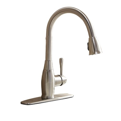 Aquasource Kitchen Faucet: Pull-Down Kitchen Faucet #0333559 BOX.