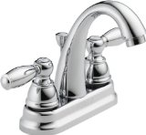 Peerless P299696LF Apex Two Handle Lavatory Faucet, Chrome