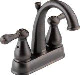 Delta Faucet 2575LF-RBMPU Leland, Two Handle Centerset Lavatory Faucet, Venetian Bronze