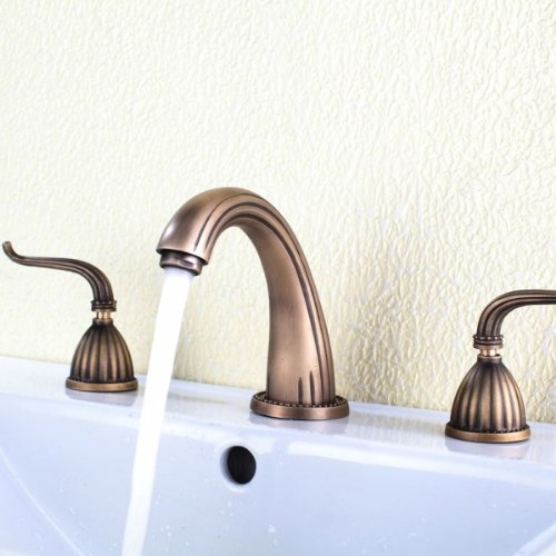 Copper Bathroom Faucet