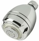 Niagara N2917CH Earth Massage 1.75 GPM Showerhead, Chrome