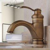 Home Built Centerset Single Handle Antique Brass Bathroom Vanity Sink Lavatory Faucet