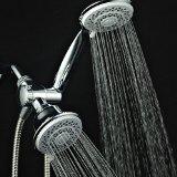 AquaStorm by HotelSpa® 30-setting SpiralFlo 3-way Luxury Shower Combo