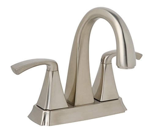 Symmons Slc 7212 Stn Rp Bramwell Center Set 2 Handle Bathroom Faucet 4 Inch Satin Nickel