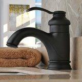 Home Built Oil-rubbed Bronze Single Handle Centerset Bathroom Sink Faucet