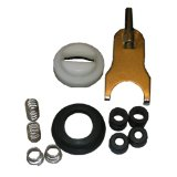 LASCO 0-3007 Single Handle Faucet Repair Kit for Plastic Handle Shower and Lavatory for Delta Brand