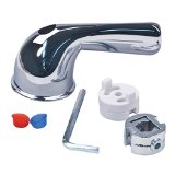 BrassCraft SH5815 Universal Fit Tub and Shower Lever Faucet Handle, Chrome