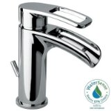 Glacier Bay Kiso Single Hole 1-Handle Low-Arc Bathroom Faucet in Chrome