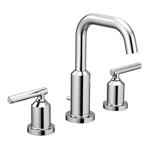 Moen T6142 Gibson Two Handle Widespread High Arc Chrome