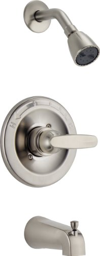 Delta Foundations BT13410-SS Monitor 13 Series Tub and Shower Trim, Stainless