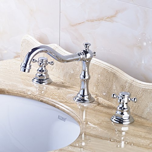 Cross Handle Bathroom Faucet